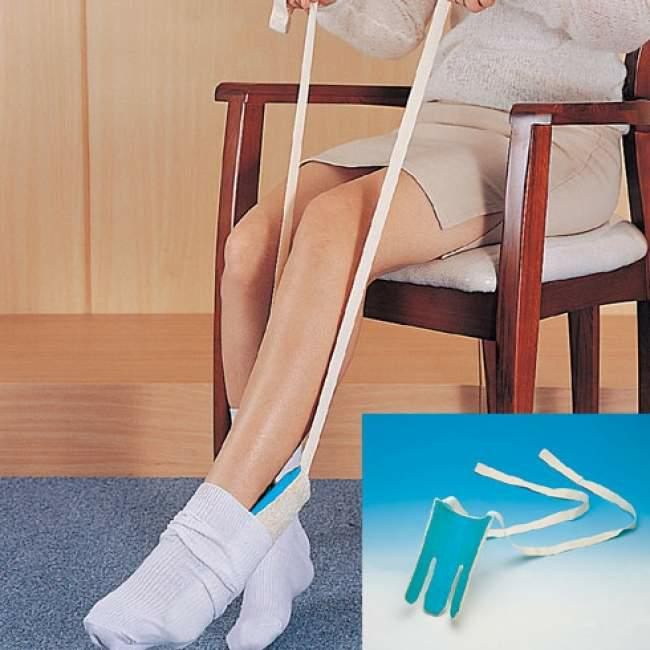 приспособление дня надевания носков